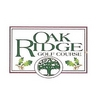 Regulation at Oak Ridge Golf Course Logo