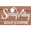 Spring Valley Golf Course Logo