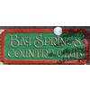 Bay Springs Country Club Logo