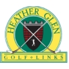 Heather Glen Golf Links - White/Blue Course Logo
