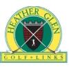 Heather Glen Golf Links - White/Blue Course Logo