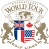 International/Open at World Tour Golf Links Logo