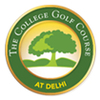 The College Golf Course at Delhi Logo