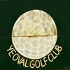 Yeoval Golf Club Logo
