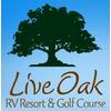 Live Oak RV Golf Course Logo