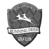 Running Deer Golf Club Logo