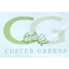 Custer Greens Golf Course Logo