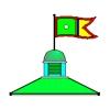 Martinsfield Golf Club Logo