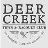 Deer Creek Town & Racquet Club Logo