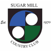 Red/Blue at Sugar Mill Country Club Logo