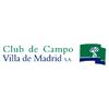 Villa de Madrid Country Club - Black Course Logo