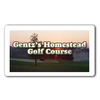 Gentz's Homestead Golf Course Logo