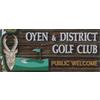 Oyen and District Golf Club Logo