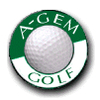 A-Gem Golf Course Logo