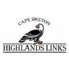 The Cape Breton Highlands Golf Course Logo