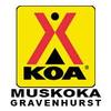 Gravenhurst KOA Golf Course Logo
