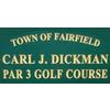 Carl Dickman Par-3 Golf Course Logo