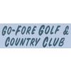 Go Fore Golf Course Logo