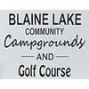 Blaine Lake Golf Course Logo