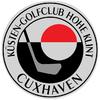 "Kuesten ""Hohe Klint"" Cuxhaven Golf Club Logo"