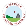 Golf Club am Alten Fliess - Red/White Course Logo