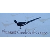 Pheasant Creek Golf Course Logo