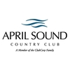 White and Blue at April Sound Country Club Logo