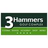 3 Hammers Golf Complex Logo