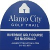 Eighteen at Riverside Municipal Golf Course Logo