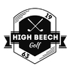 High Beech Golf Course - Red Course Logo