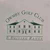 Owmby Golf Club Logo
