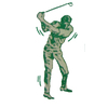 Sandfield Golf Course and Driving Range Logo