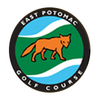 White at East Potomac Public Golf Course Logo