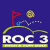 Roc 3 Pitch & Putt Golf Logo