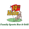 19th Hole Sports Bar & Grill Logo