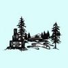 Lake Almanor West Golf Course Logo