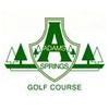 Adams Springs Golf Course Logo