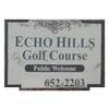 Echo Hills Golf Club Logo