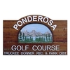 Ponderosa Golf Course Logo