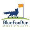 Blue Fox Run Golf Club - Red Nine Logo