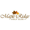 Maple Ridge Golf Club Logo