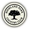 Highland Park Country Club Logo