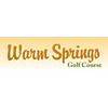 Warm Springs Golf Course Logo