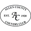 Allen County Country Club Golf Course Logo