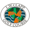 L W Clapp Golf Club Logo