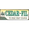 Cedar-Fil Golf Course Logo