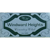 Windward Heights Country Club Logo