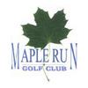 Maple Run Golf Course Logo