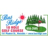 Bas-Ridge Golf Course Logo