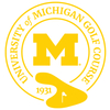 University of Michigan Golf Course Logo